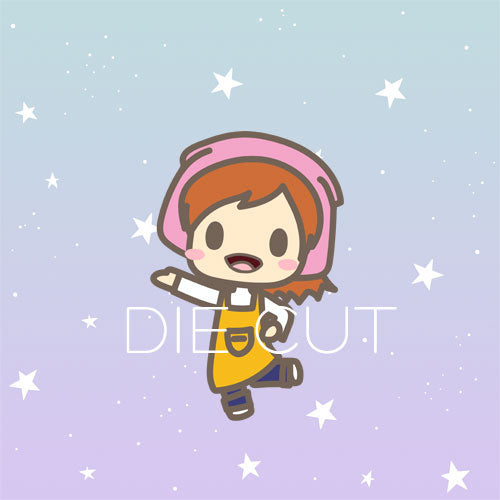 Cooking Mama die cut