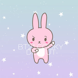 BT21 Cooky die cut