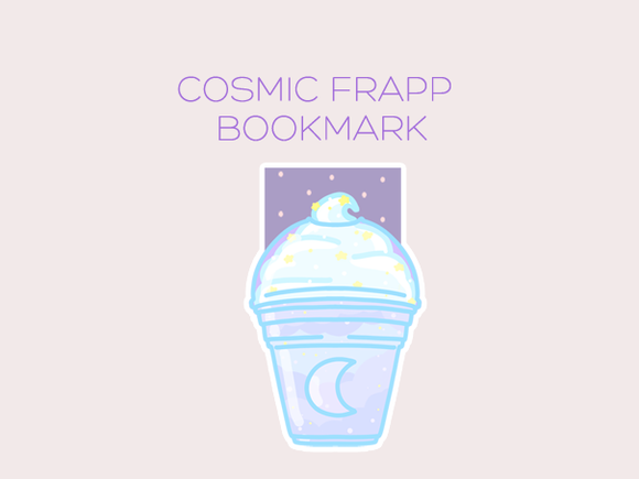 Cosmic Frapp magnetic bookmark
