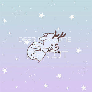 Deer Fox cutie die cut