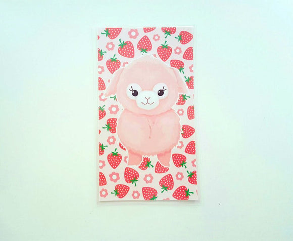 Kawaii Alpaca strawberry dashboard