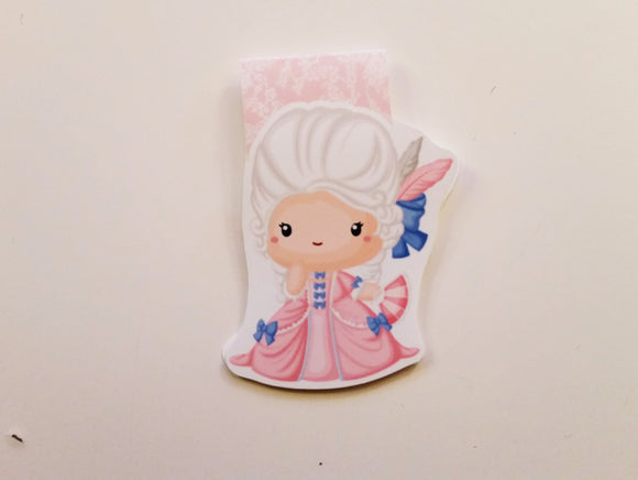 marie antoinette magnetic bookmark