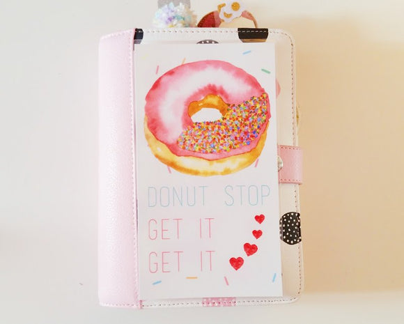 Donut stop get it get it planner dashboard