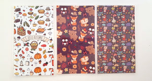 Autumn dashboard and bookmarks