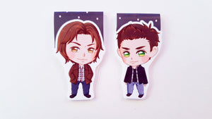 Spn brothers magnetic bookmarks