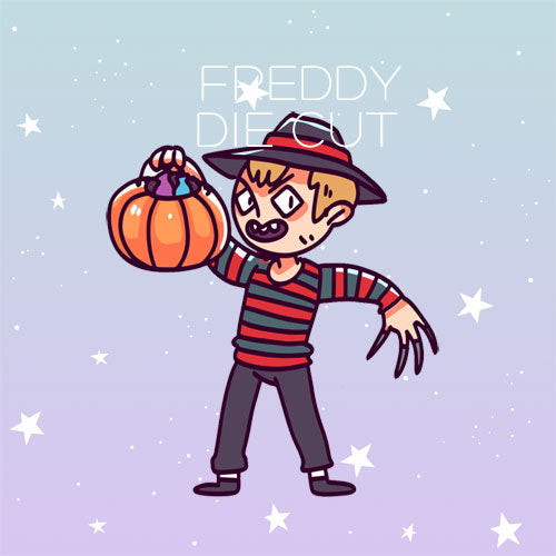 Freddy die cut