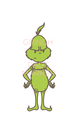 Grinch Page marker