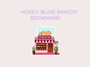 Honey Buns Bakery magnetic bookmark