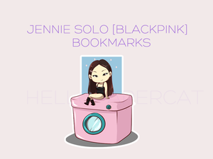 Jennie SOLO [blackpink] magnetic bookmark