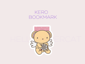 Kero magnetic bookmark