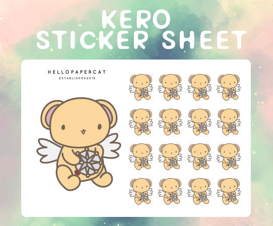 Kero sticker sheet