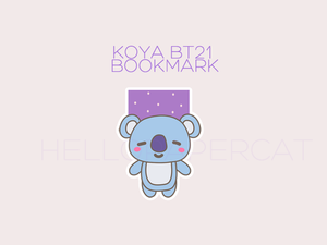 Koya Bt21 magnetic bookmark