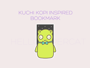 Kuchi Kopi Inspired magnetic bookmark