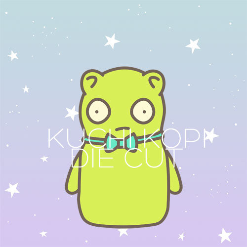Kuchi Kopi inspired die cut