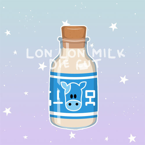 lon lon milk die cut