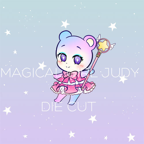 Magical Girl Judy die cut