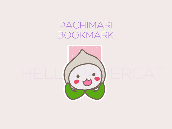 Pachimari magnetic bookmark