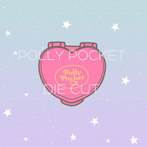 Polly Pocket die cut