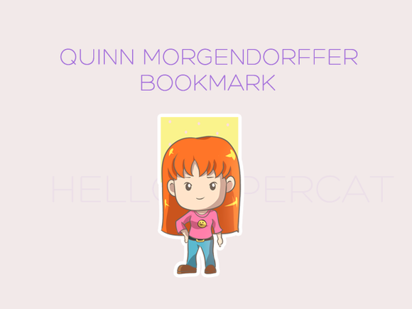 Quinn magnetic bookmark