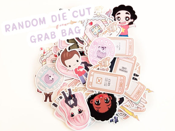 2 Random Die Cut Grab bag