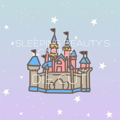 Sleeping Beauty's Castle die cut