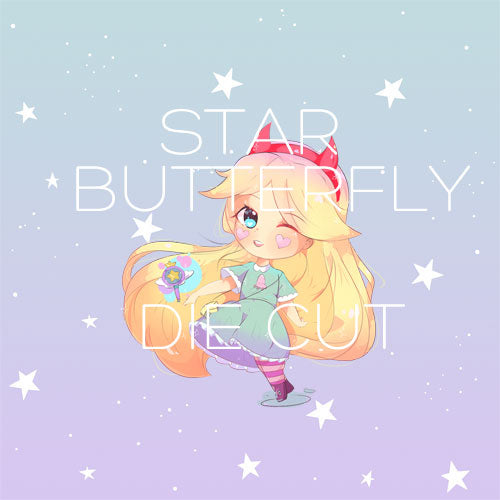 Star Butterfly die cut