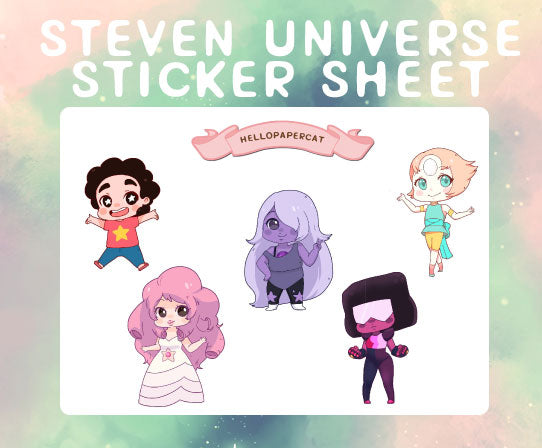 steven sticker sheet