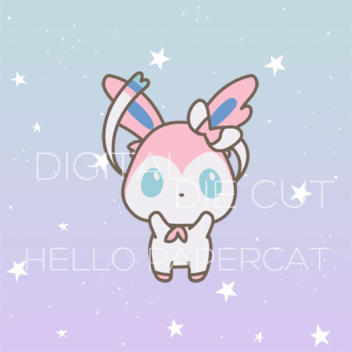 Sylveon die cut