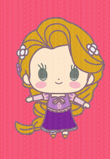 Rapunzel Printable die cut download