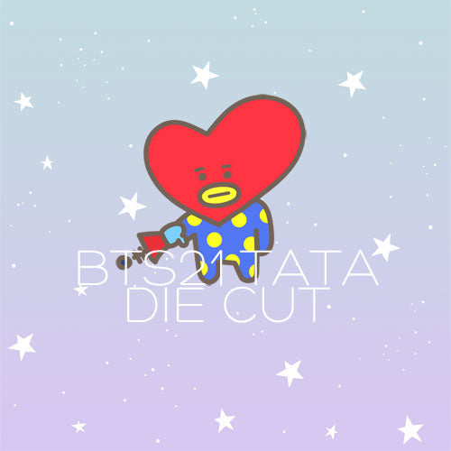 BT21 Tata die cut