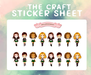 The Craft sticker sheet