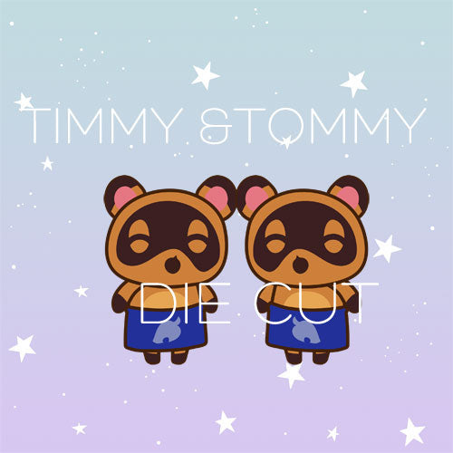 Timmy & Tommy die cut