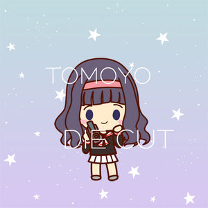 Tomoyo die cut