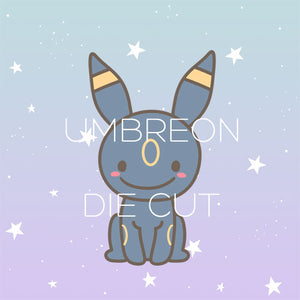 Umbreon die cut