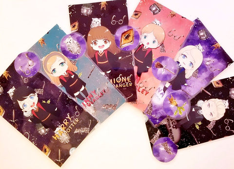 Potter Pals dividers for a personal planner
