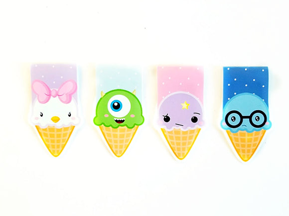 Character Ice cream cones