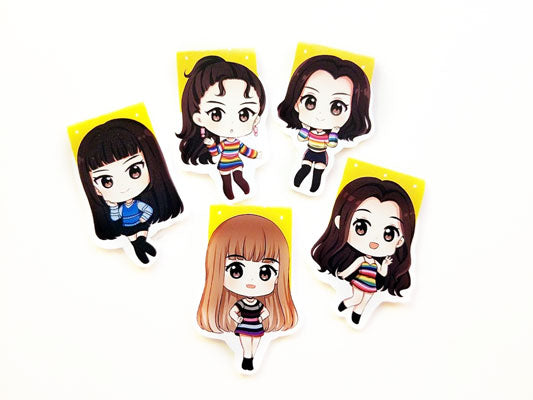 Red Velvet magnetic bookmarks