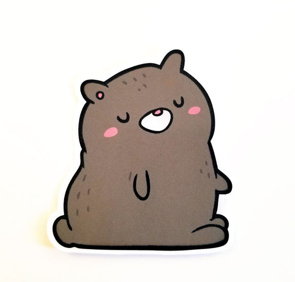 Beary Cute die cut