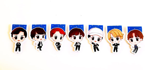 GOT7 LOOK magnetic bookmarks