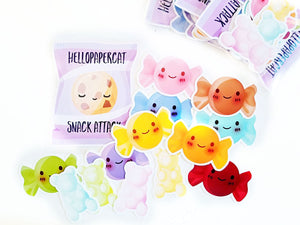 Snack Pack die cut set