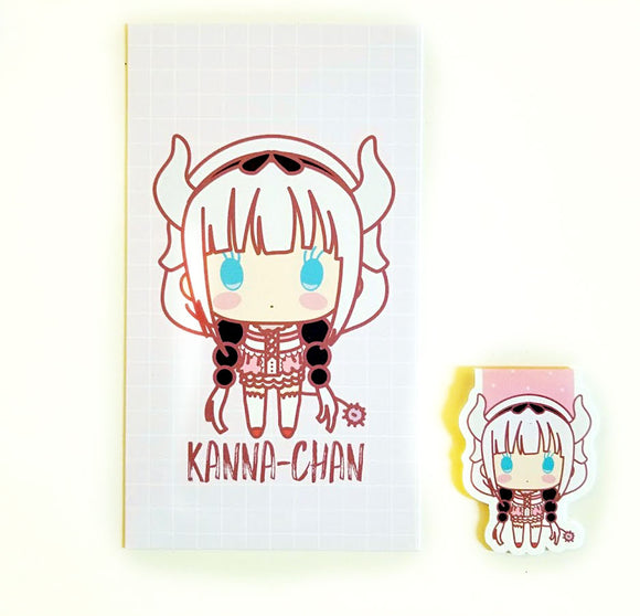 Kanna-chan planner dashboard or magnetic bookmark