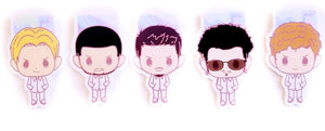 Backstreet Boys magnetic bookmarks