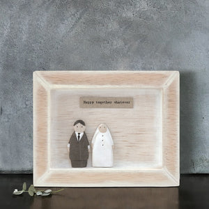 Bride & Groom Box Frame