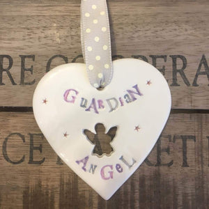 Guardian Angel Heart
