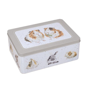 Guinea Pig Rectangular Tin
