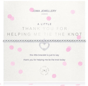 A Little Thank You Help to Tie Knot