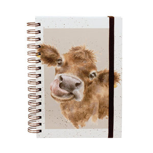 Mooo Spiral Bound Notebook