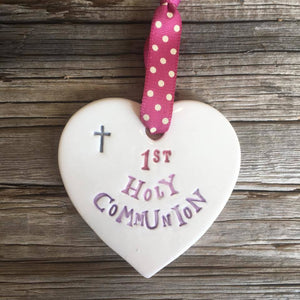 1st Holy Communion Pink
