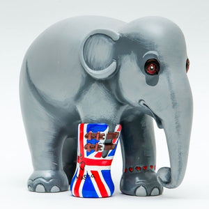 'We Love Mosha UK' 10cm Elephant