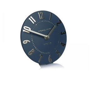"6"" Mulberry Mantel Clock Midnight Blue"